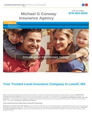 Insurance agency in Lowell