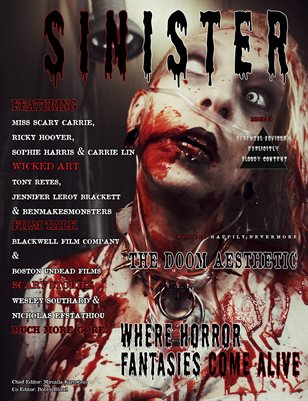 SINISTER Magazine Issue #5- The Doom Aesthetic Cover