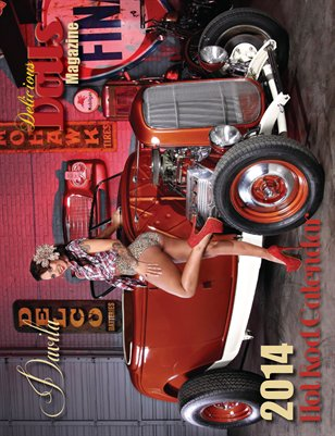 Delicious Dolls 2014 Hot Rod Calendar