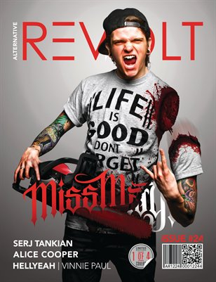 Alt Revolt Mag Issue 24.4 (Miss May I) Limited Edition [1 of 4 covers]