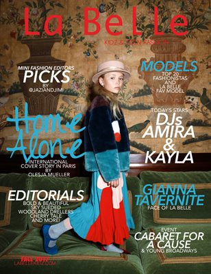 La Belle Kidz & Teen Fashion / Fall 2017 - Paris Cover