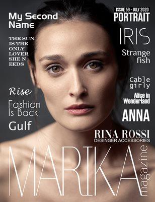 MARIKA MAGAZINE PORTRAIT (July - issue 59)