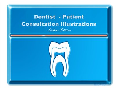Dentist-Patient Consultation Illustrations - Deluxe Edition