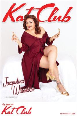 Kat Club No.22 – Jacquelina Winemixer Cover Poster