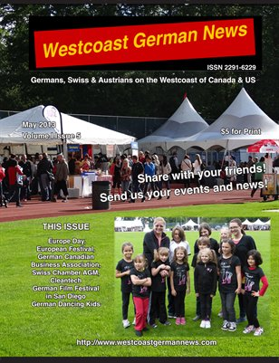 Westcoast German News - May Issue 2013