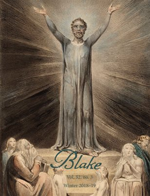 Blake/An Illustrated Quarterly vol. 52, no. 3 (winter 2018-19)