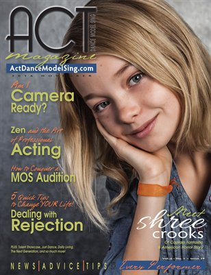 ACT Dance Model Sing Magazine Issue 29