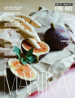 MARIKA MAGAZINE FINE-ART (ISSUE 520 - January)