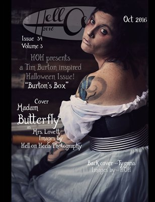 "Hell on Heels Magazine Issue #34 Vol.3 ""Burton's Box"" Oct 2016"