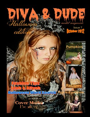 Halloween Issue 7 Diva & Dude Model Magazine