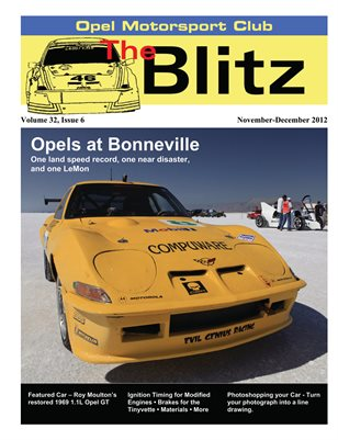 The Blitz, Nov-Dec 2012