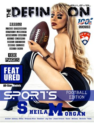 The Definition: Sports Football Sheila Morgan cover