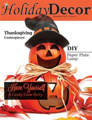 Holiday Decor Magazine - November 2016