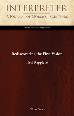 Rediscovering the First Vision