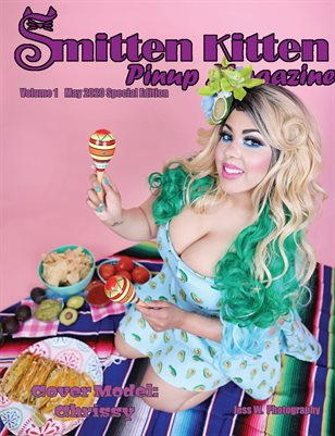 Smitten Kitten Pinup Magazine Cover Chrissy May 2020 Special Edition