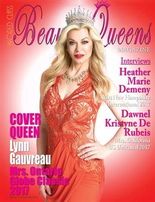World Class Beauty Queens Magazine with Lynn Gauvreau