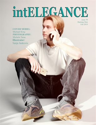 intElegance magazine issue 50 - February 2019 Raining Men