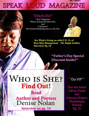 Features Author's Denise Nolen, and C.E.O. Ralfael Golden