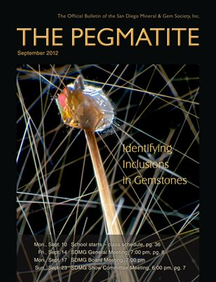 The Pegmatite - September 2012