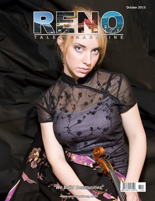 Reno Talent Magazine October 2015 Edition