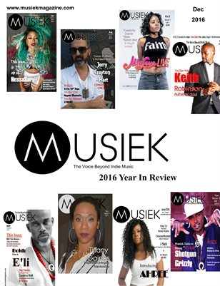 Musiek December 2016 Issue: The Recap