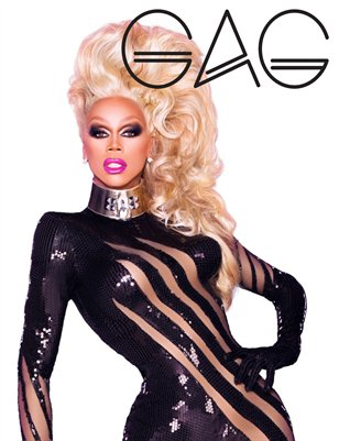 GAG Magazine - RuPaul & 1st Annual GAG19 List Issue #3