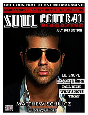 Soul Central Magazine July Edition