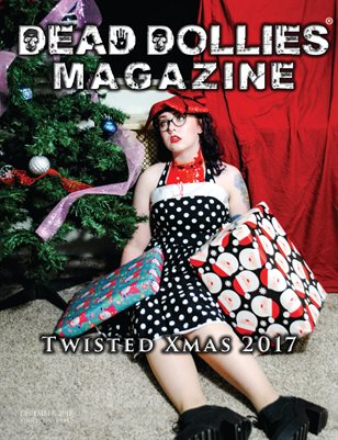 Dead Dollies Magazine Twisted XMAS 2017