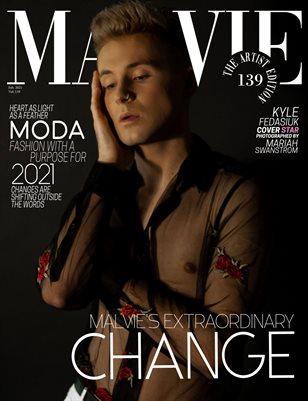 MALVIE Magazine The Artist Edition Vol 139 February 2021