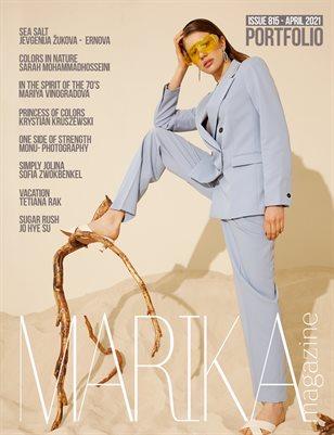 MARIKA MAGAZINE PORTFOLIO (ISSUE 815 - APRIL)