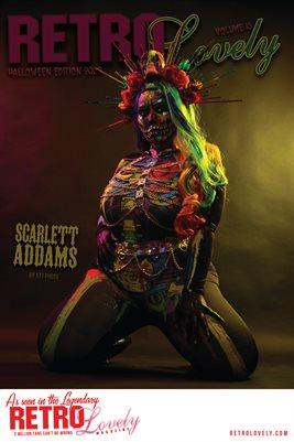 Scarlett Addams Cover Poster