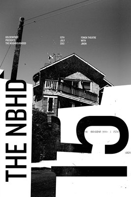 The Neighbourhood Gig Poster