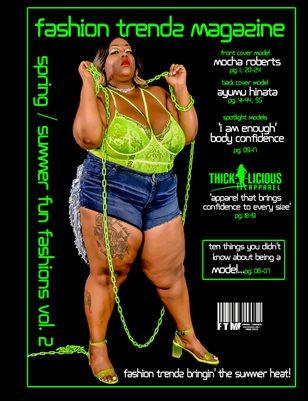 Fashion Trendz Magazine Spring / Summer Fun Fashions Vol.2