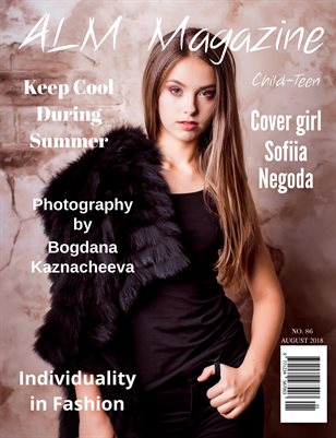 "ALM Child-Teen Magazine, ""August Most Beautiful,"" Issue 86, August 2018"