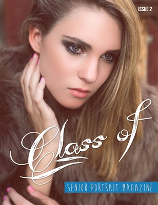 """Class of"" Senior Portrait Magazine 2"