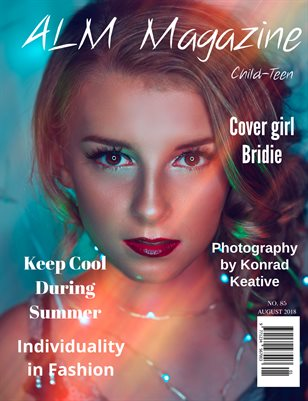 "ALM Child-Teen Magazine, ""15 Most Beautiful,"" Issue 85, August 2018-1"