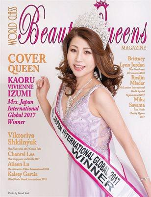 World Class Beauty Queens Magazine Issue 61 Kaoru Vivienne Izumi