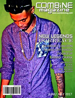June/ July New Legends Issue Dorreace Cover