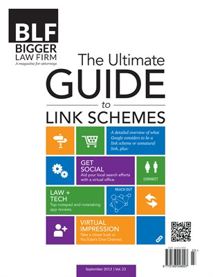 The Ultimate Guide to Link Schemes - September 2013
