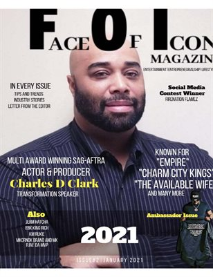 Face of Icon Magazine (January 2021)