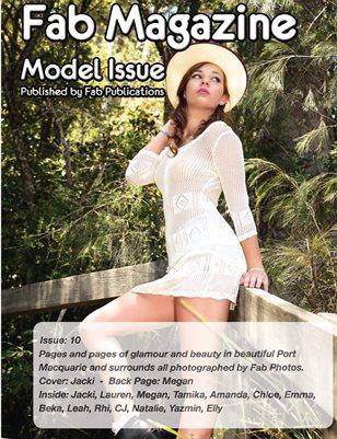 Fab Magazine Model Issue 10