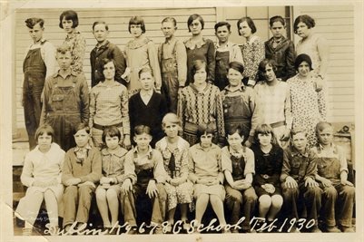 1930 GRADES 6-8, DUBLIN, GRAVES COUNTY, KENTUCKY