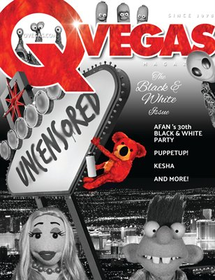 QVegas | The Black & White Issue | August 2016