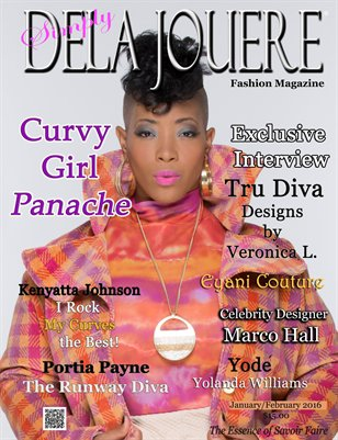 Simply Dela Jouere Fashion Magazine (Curvy Girl Panache)