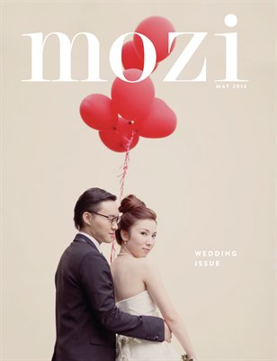Mozi Magazine, May 2013 - Wedding Edition