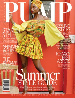 PUMP Magazine - The Summer Style Guide - August 2018