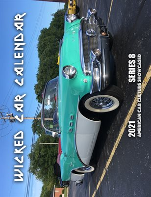 WICKED CAR MAG CALENDAR 2021 SERIES 8 - 1956 BUICK SPECIAL