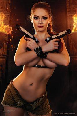 Lara Croft Poster 3