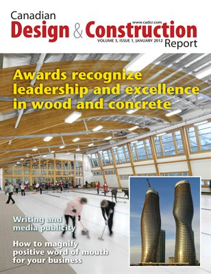 Canadian Design and Construction Report January/February 2012