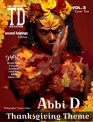 The Definition: Abbi D Thanksgiving vol.2 cover 1